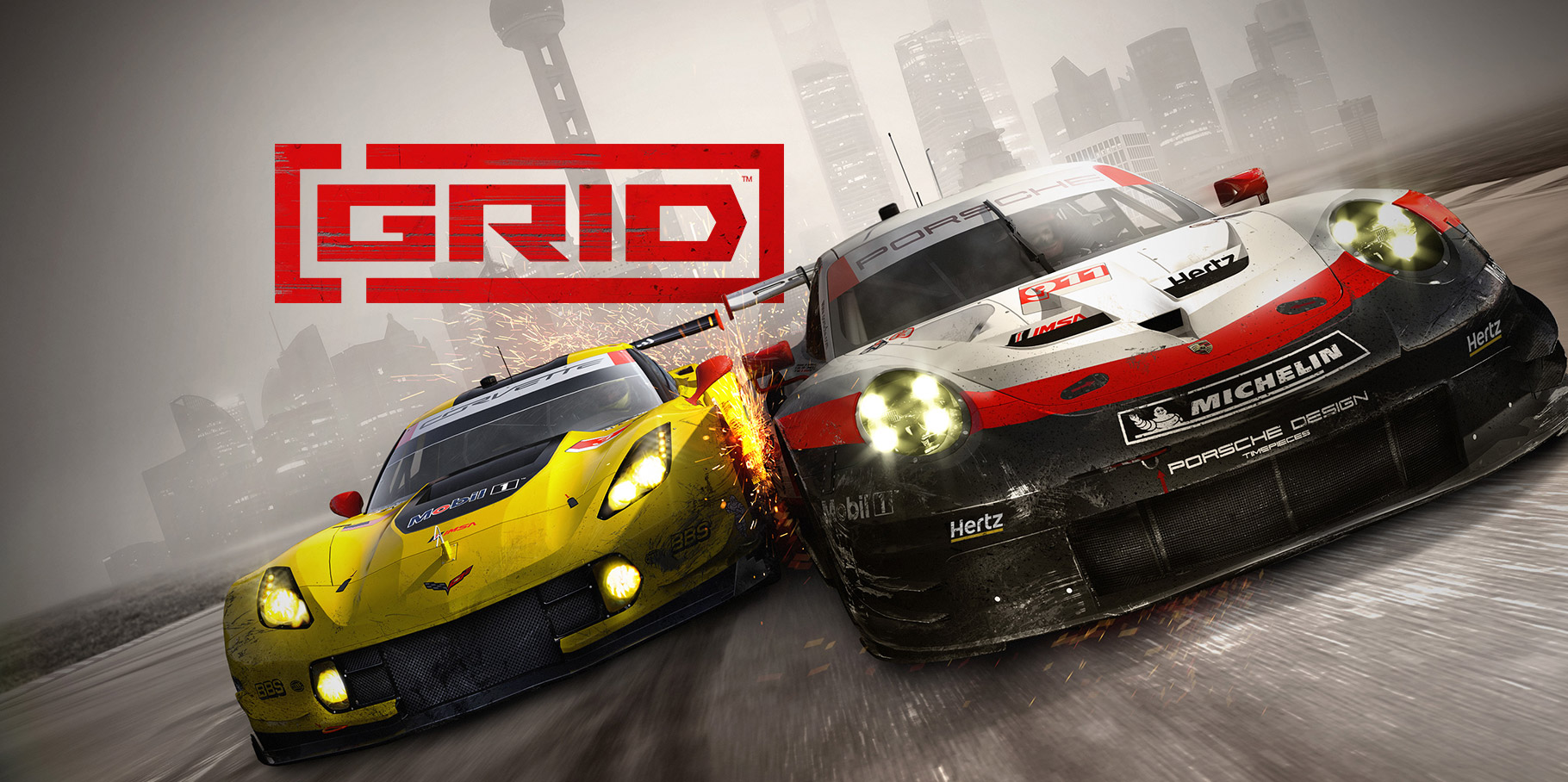 GRID game poster